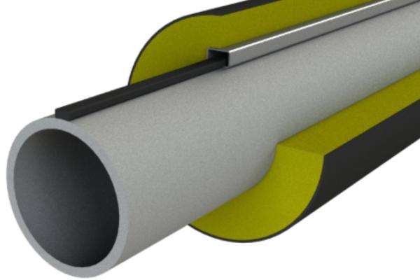 Kabel grzewczy TL w tunelu aluminiowym